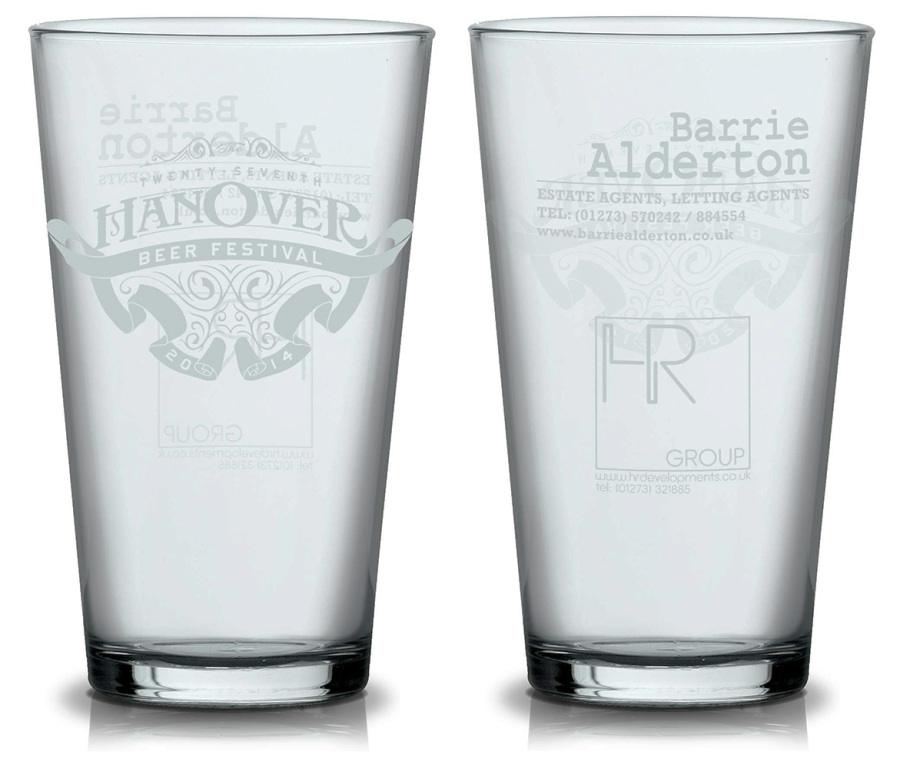 2014 souvenir glass