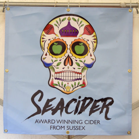 SeaCider donated their 'Whiskey Aged' cider