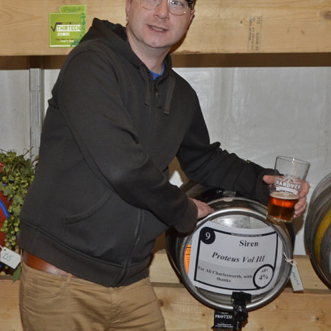 Ali Charlesworth, curator of beers