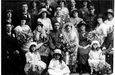 Steedman wedding 1923