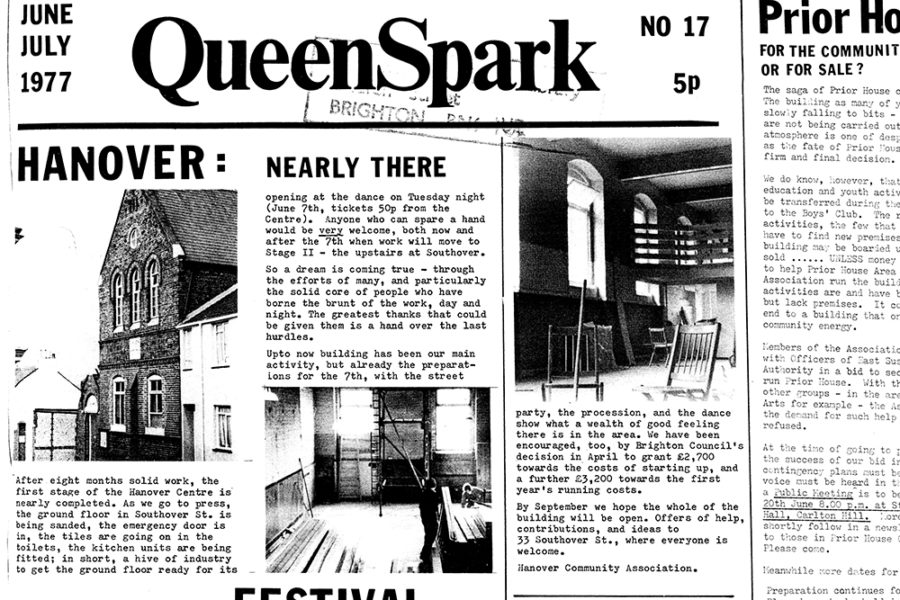 "Article in ""QueenSpark"" from June 1977"
