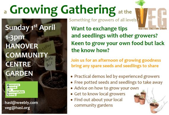 Growing Gathering poster